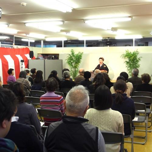 カワノジャパン  神田陽子 講談会2